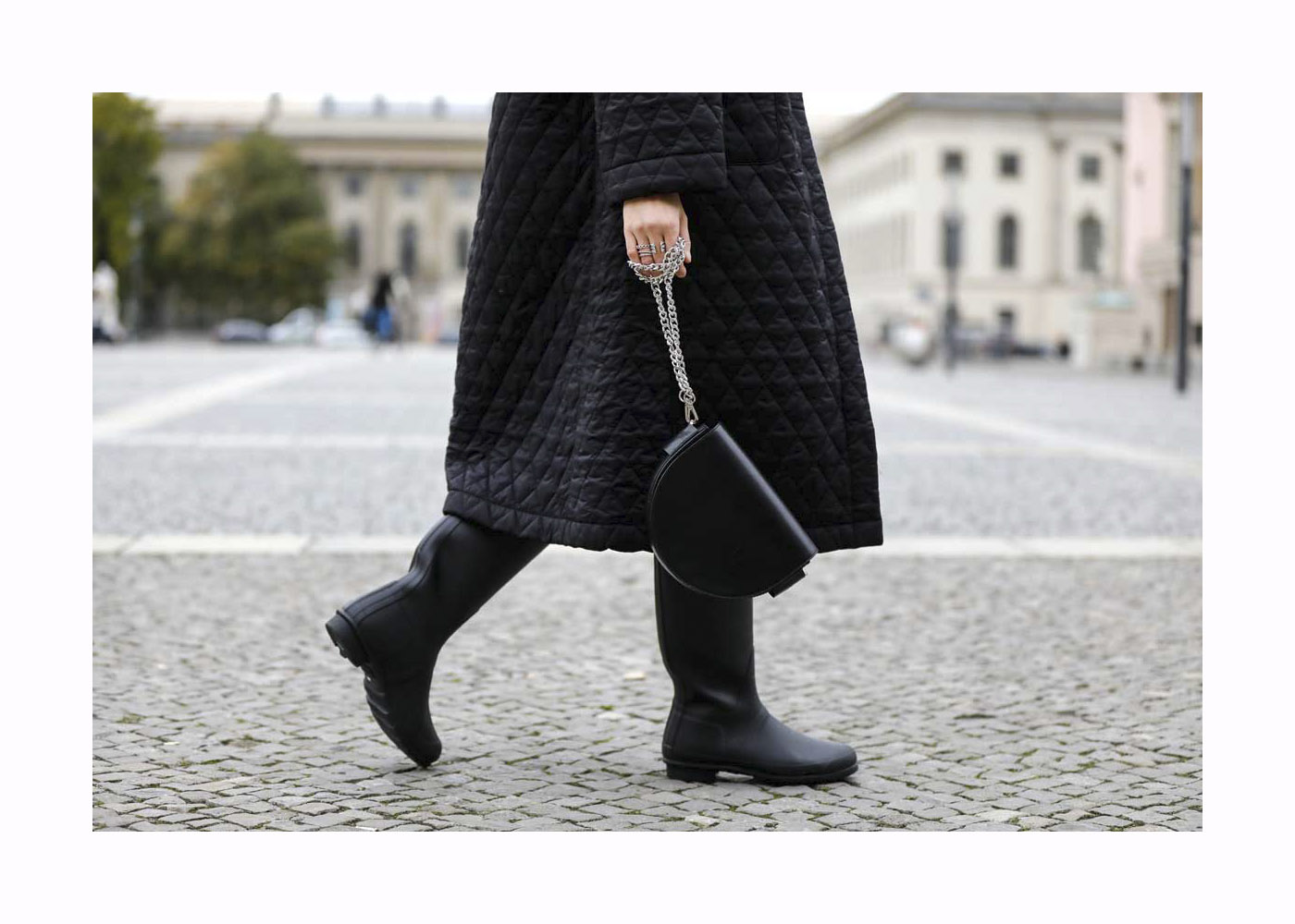 Jacqueline Zelwis Street Style Shooting In Berlin