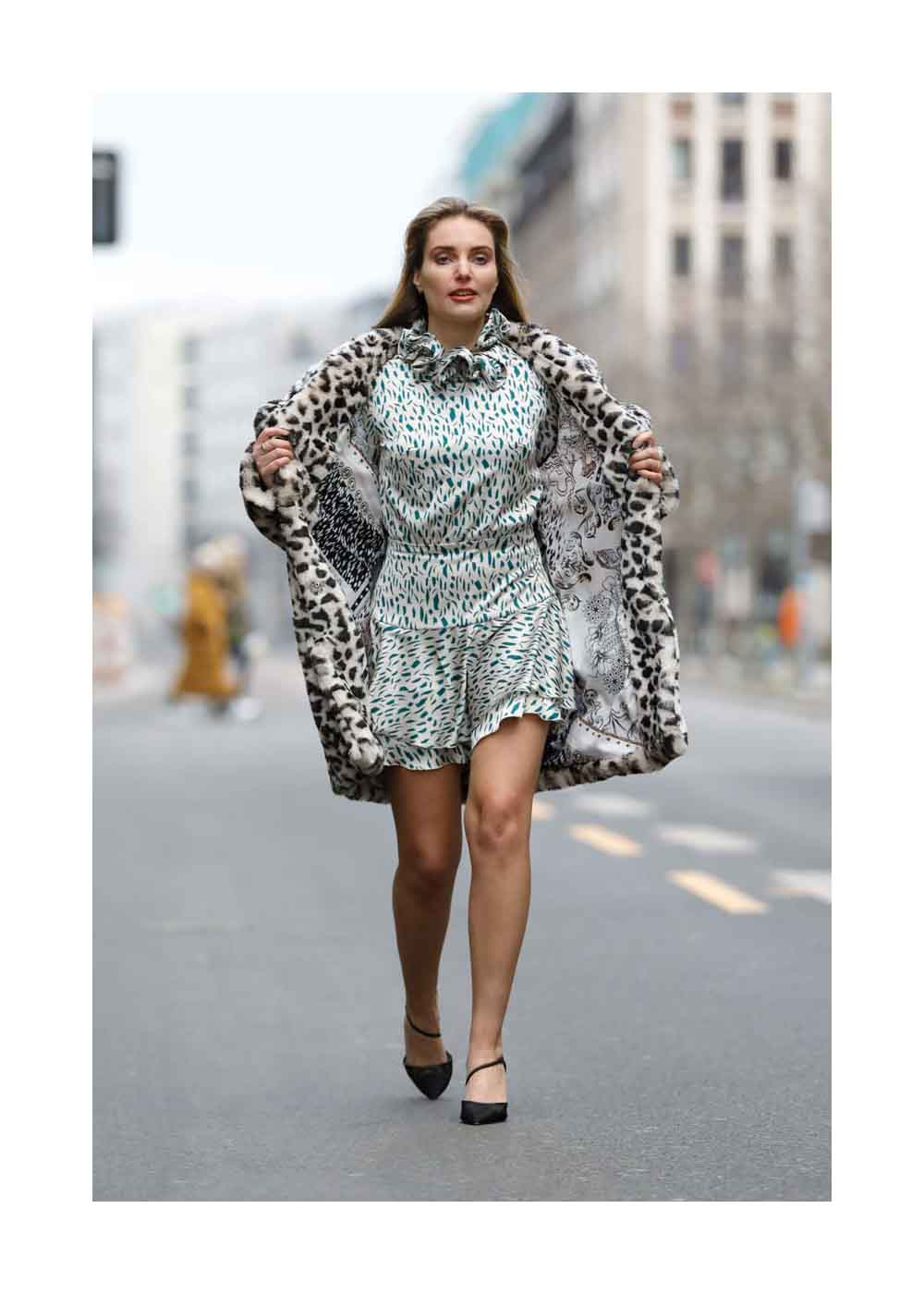 Street Style – Mercedes-Benz Fashion Week Berlin January 2021 –
