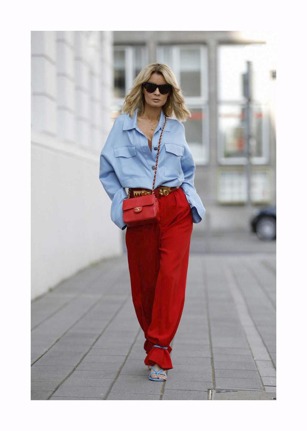 Gitta Banko Street Style – Duesseldorf – June, 2020