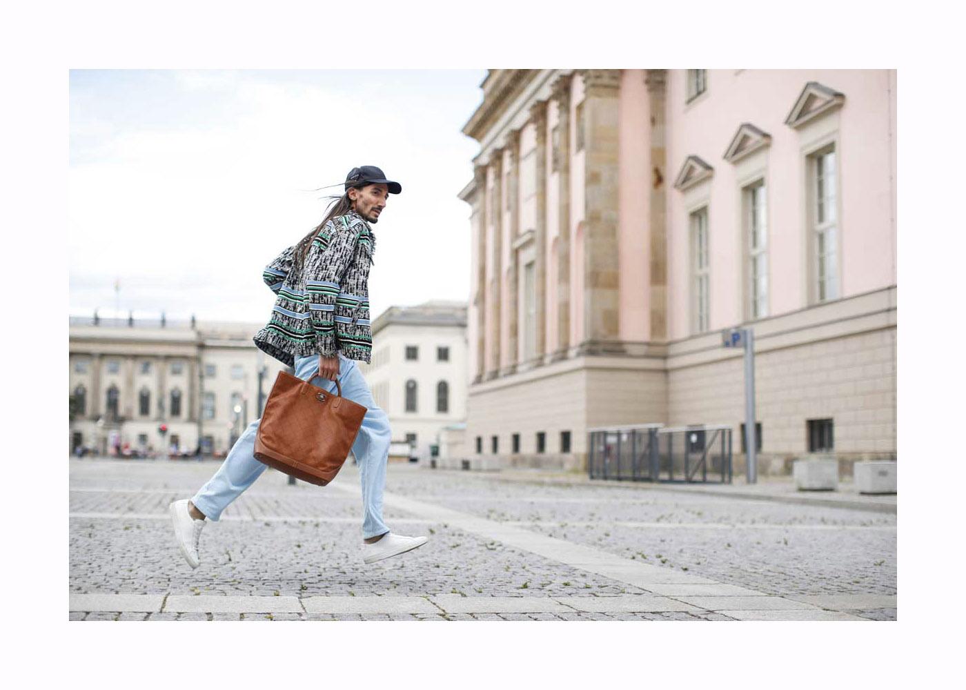 Julian Daynov Streetstyle in Berlin