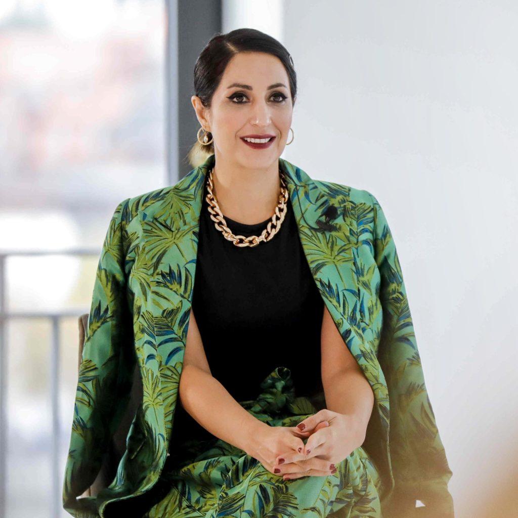 Laila Hamidi's Beauty Face