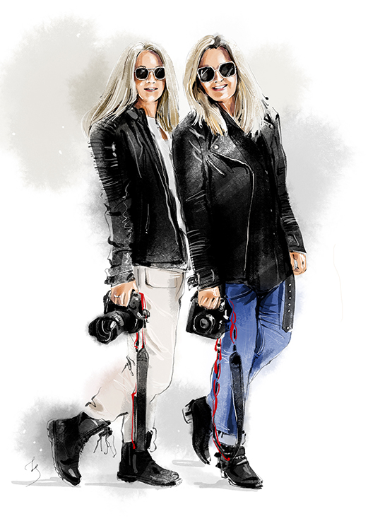 Isa Foltin und Franziska Krug – die Streetstyleshooters