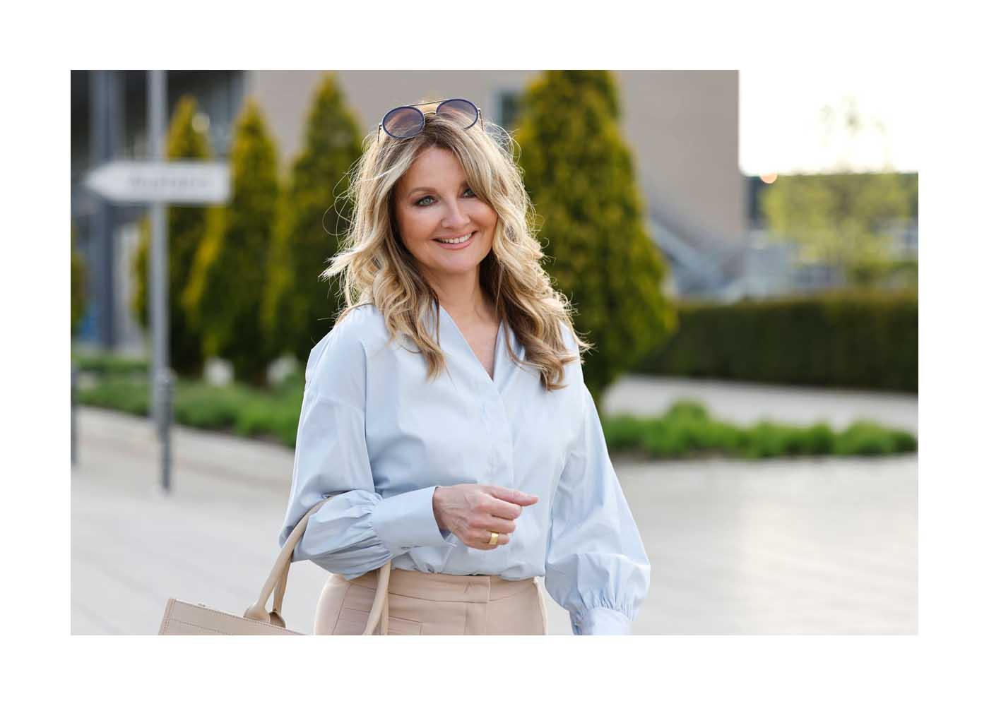 Streetstyle Shooting mit TV Moderatorin Frauke Ludwig