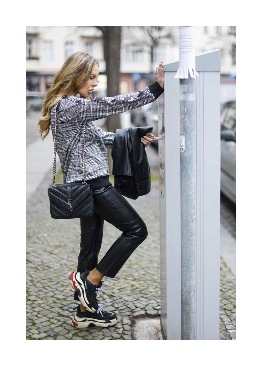 Xenia Seeberg Street Style Shooting In Berlin