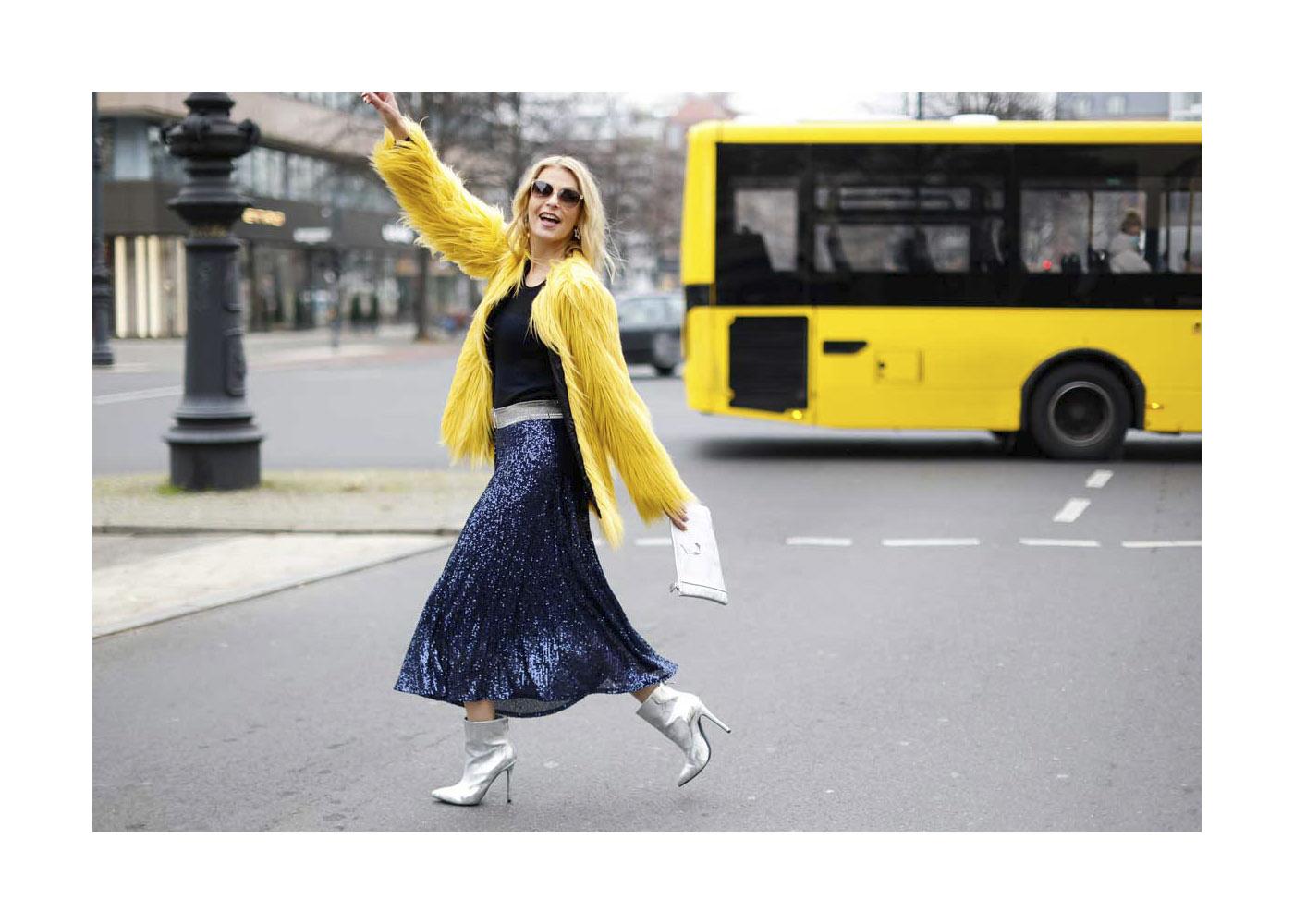 Tanja Buelter Street Style Shooting In Berlin