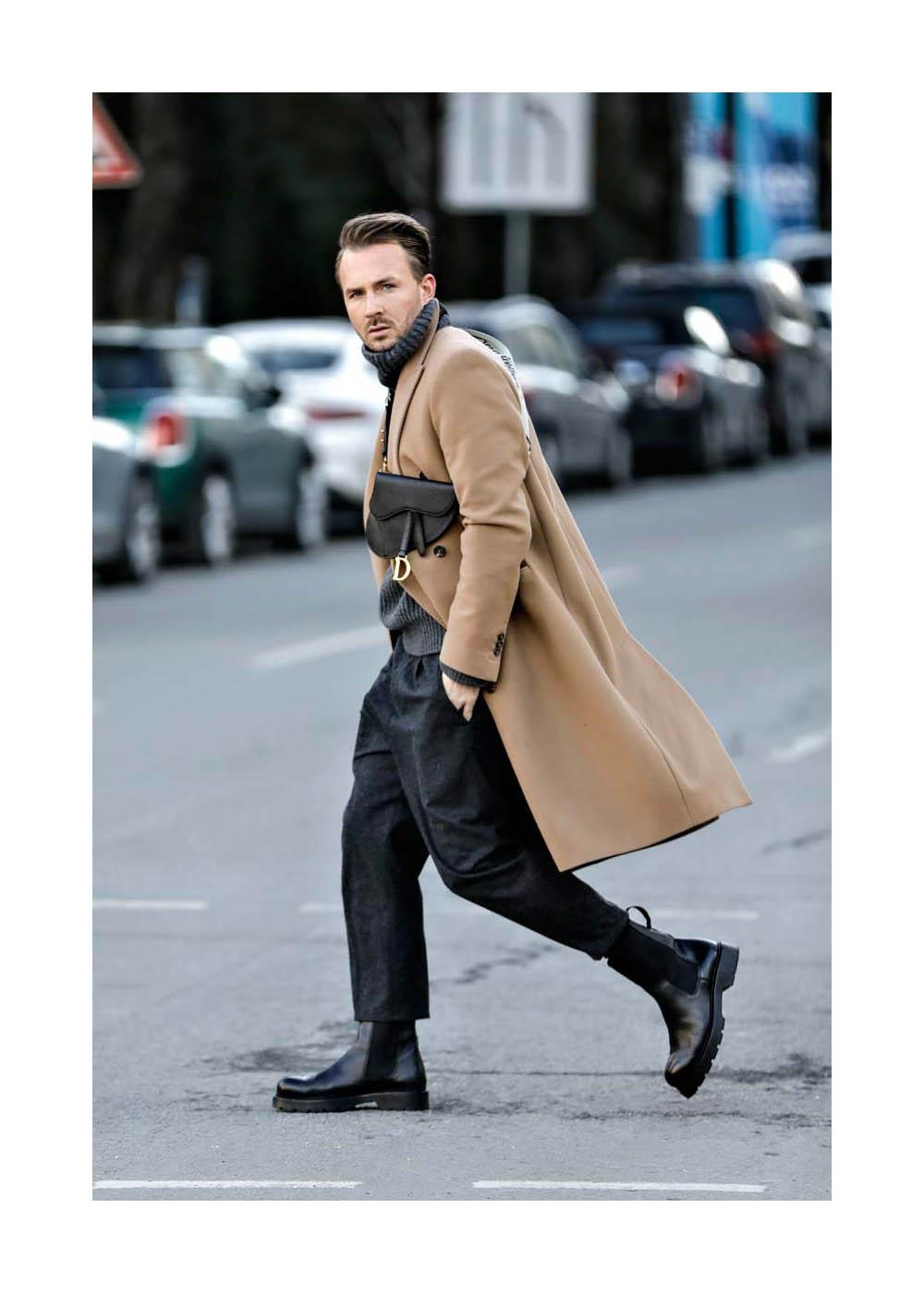 Street Style Shooting mit Dennis Mitchell Sialkowski in München