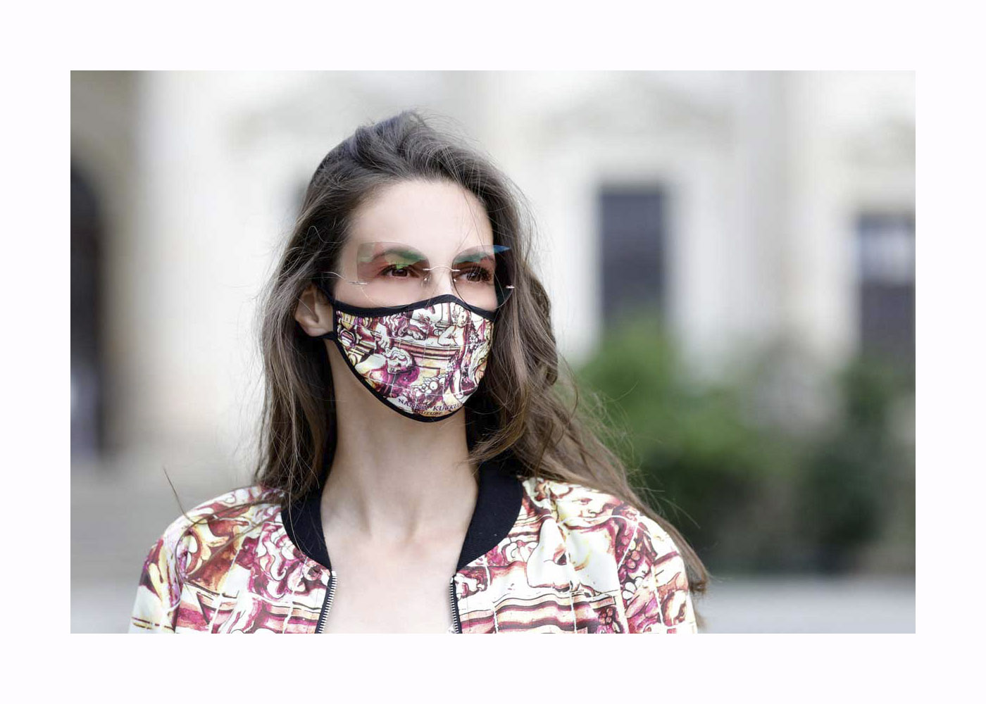 Katrin Wrobel – Street Style – Berlin – June 16, 2020