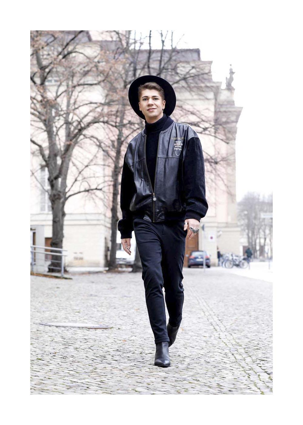 Streetstyle mit Maxi Seitz in Berlin