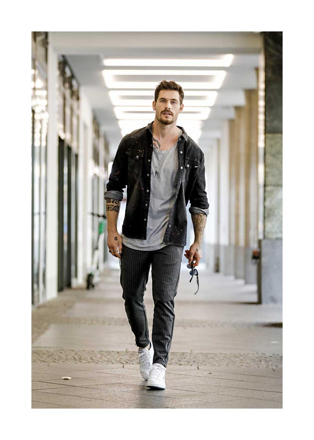 Streetstyle mit Angelo Carlucci in Berlin