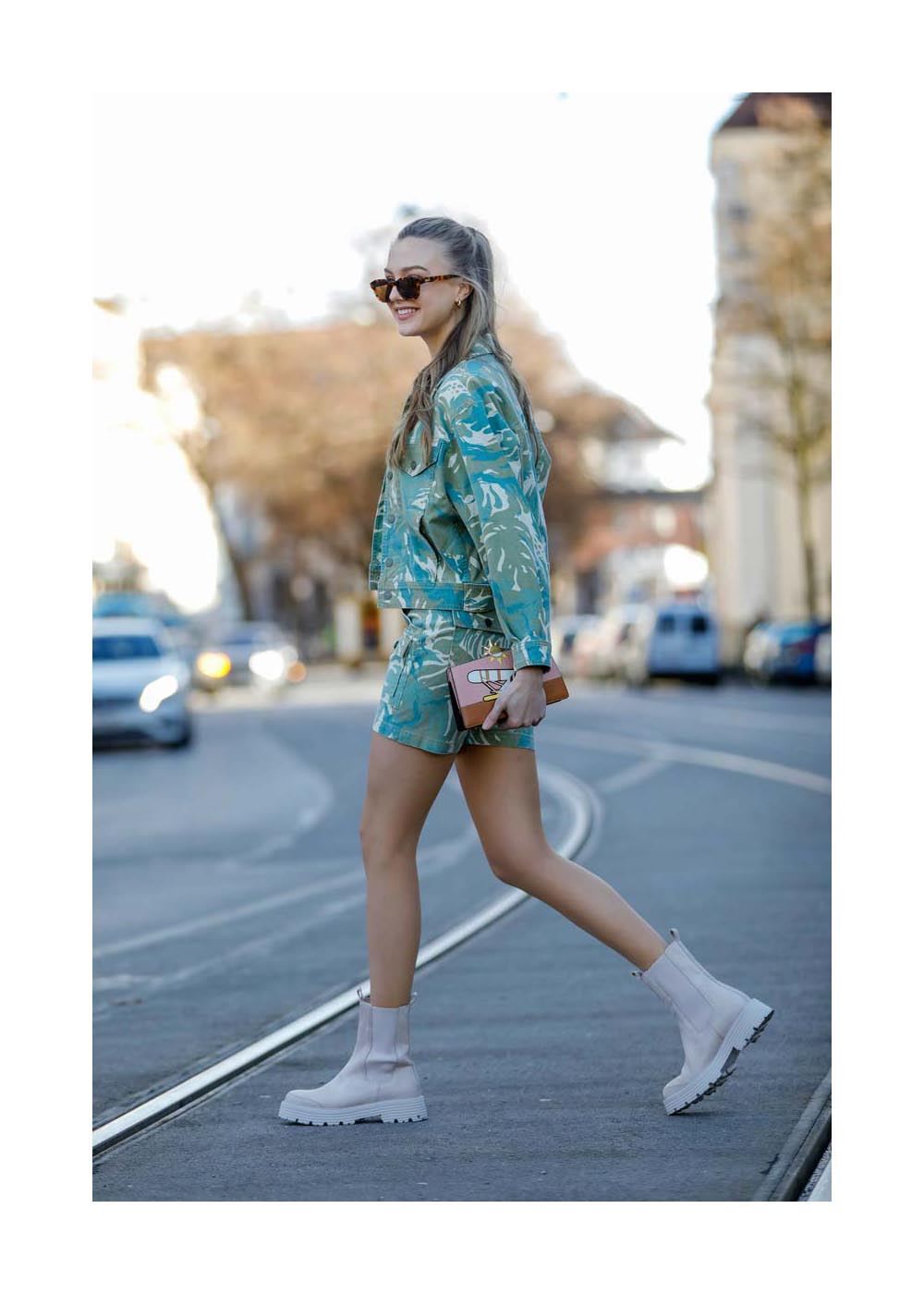 Lilly Krug Street Style Shooting In Munich