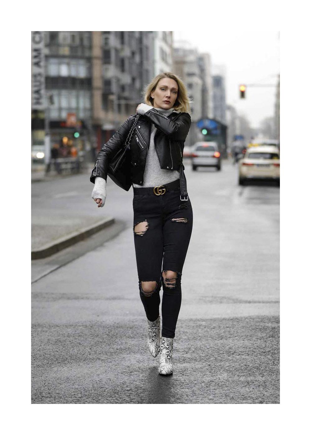Victoria Jancke Street Style Shooting In Berlin