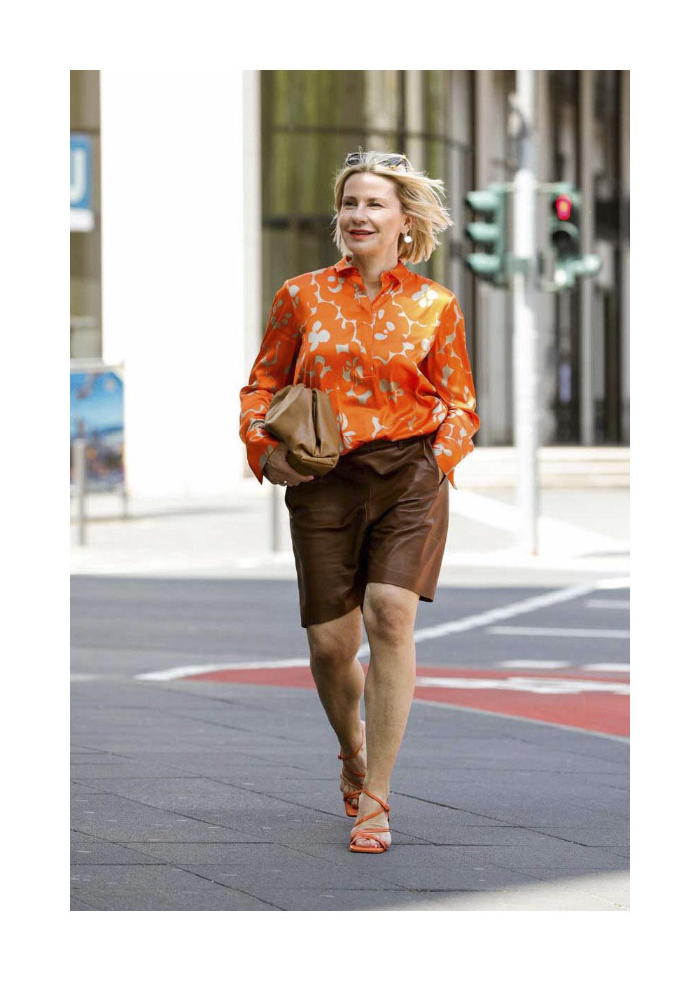 Streetstyle mit Simone Adams in Frankfurt
