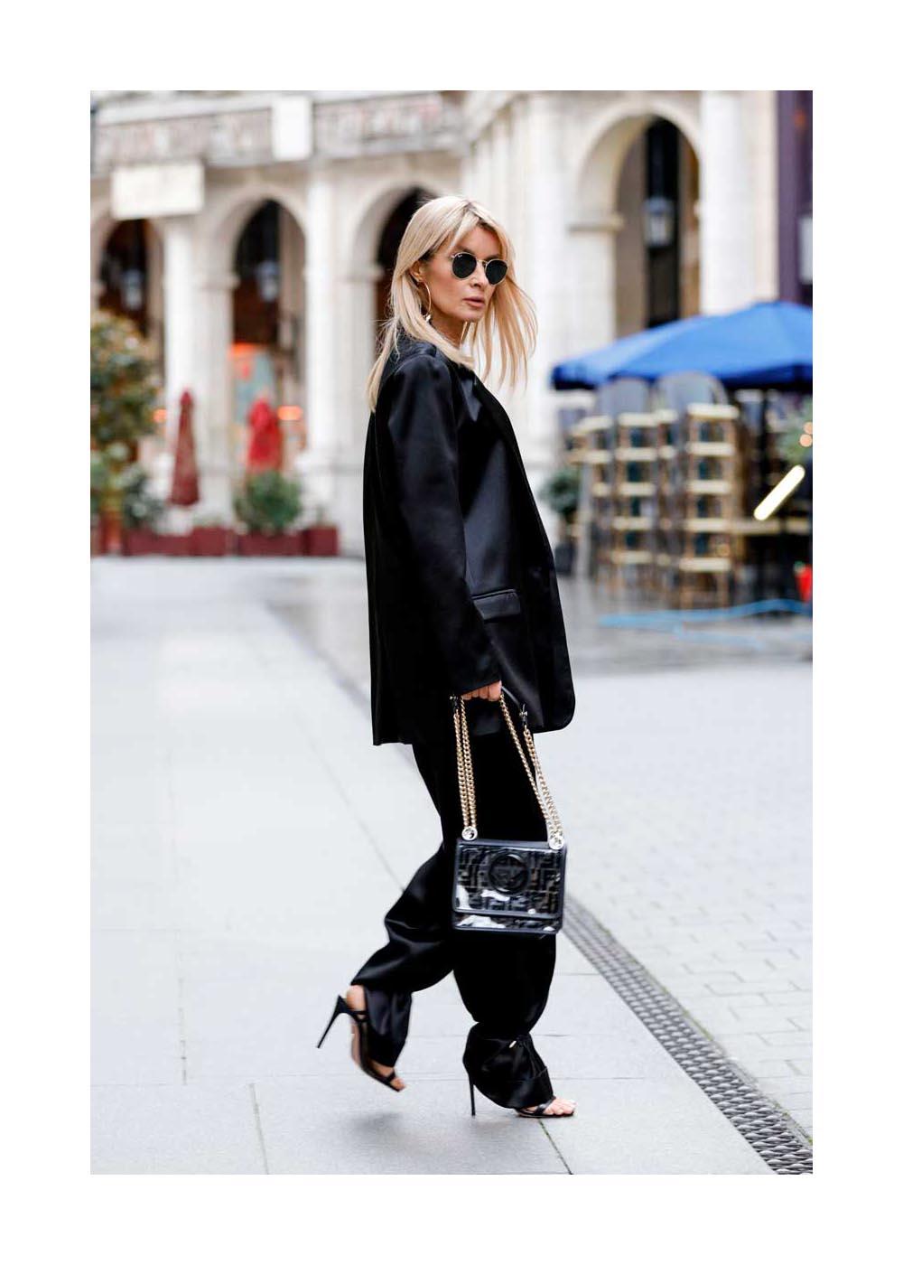 Streetstyle während der Fashion Week Paris