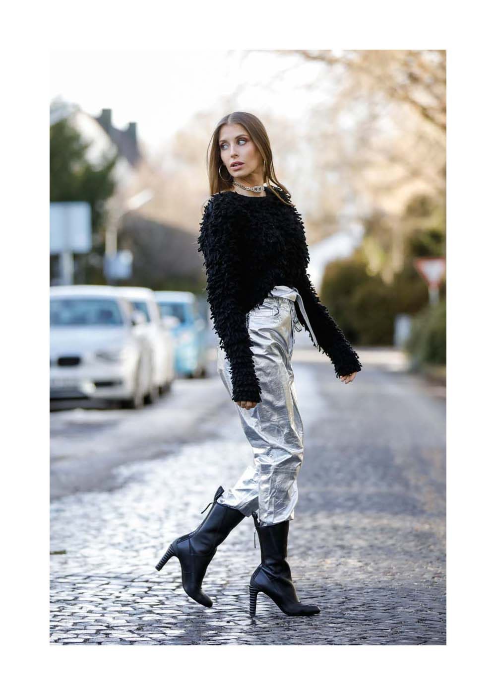 Streetstyle mit Cathy Hummels in München