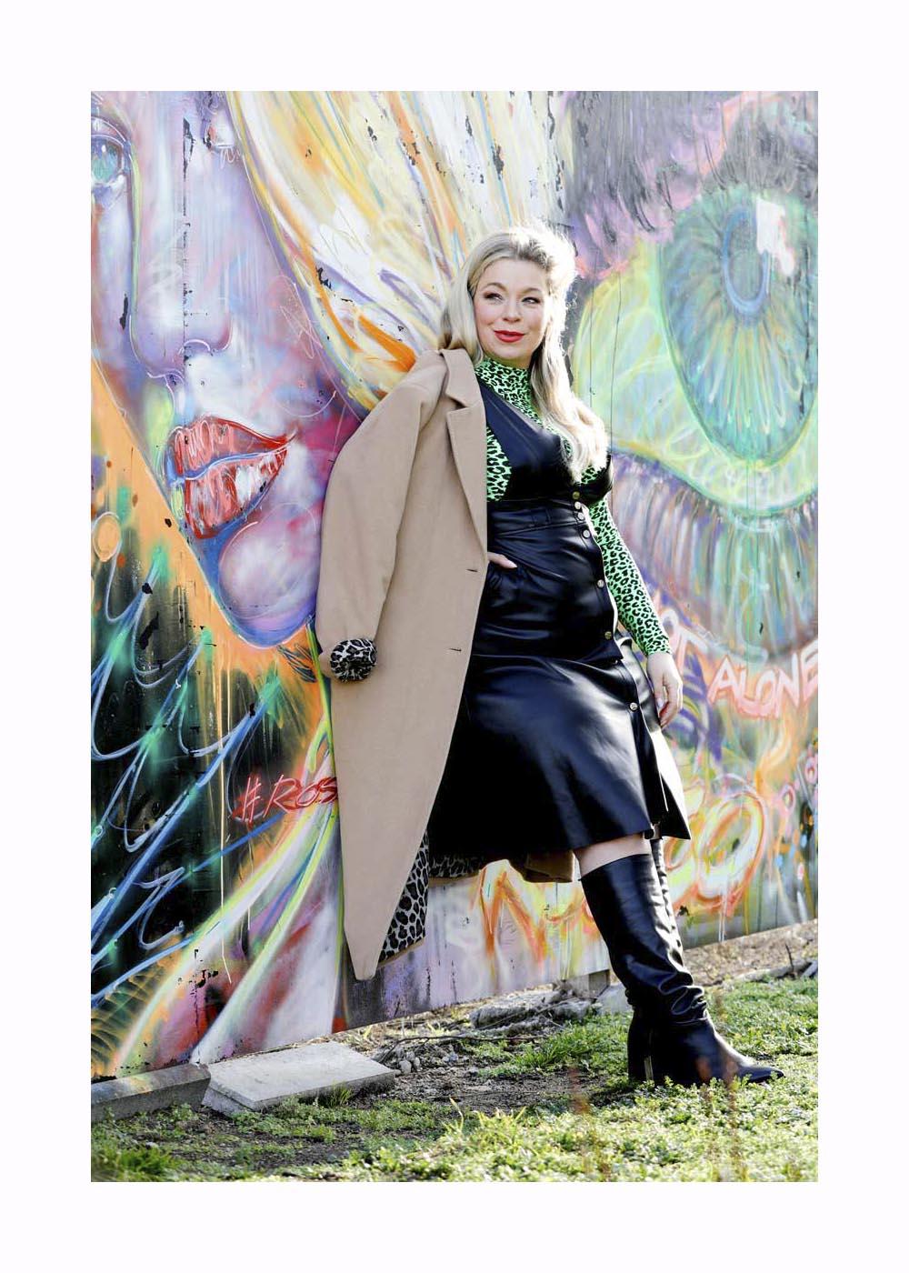 Streetstyle mit Caterina Pogorzelski in Berlin