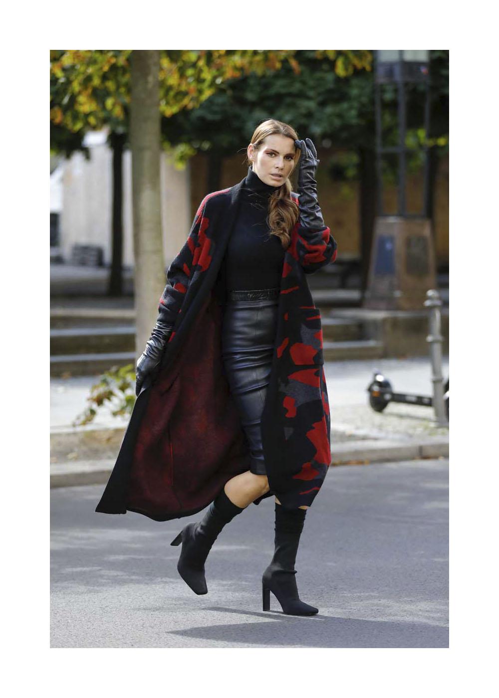 Rebecca Kunikowski Street Style Shooting In Berlin
