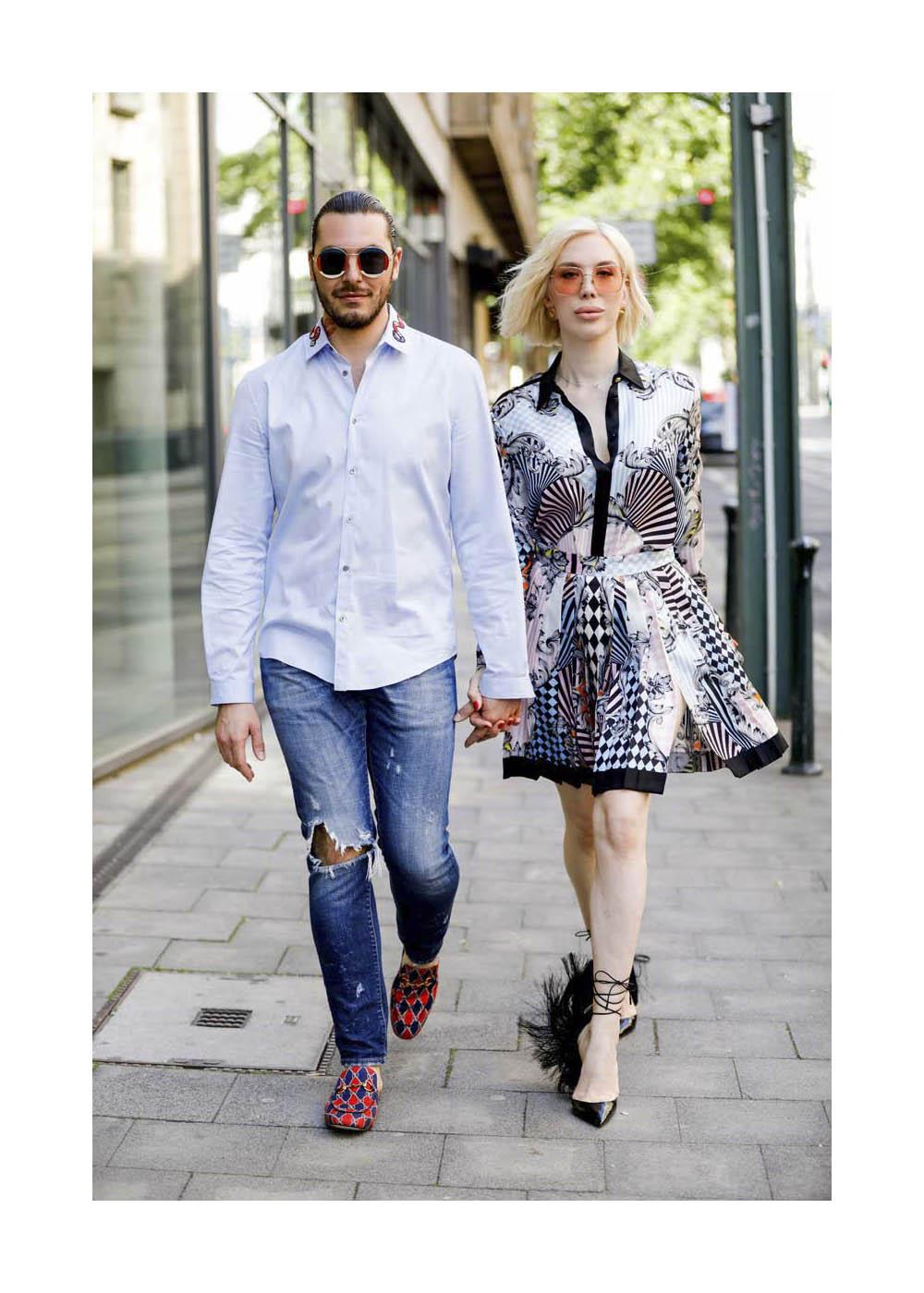 Streetstyle mit Mr. & Mrs. Simmons in Düsseldorf