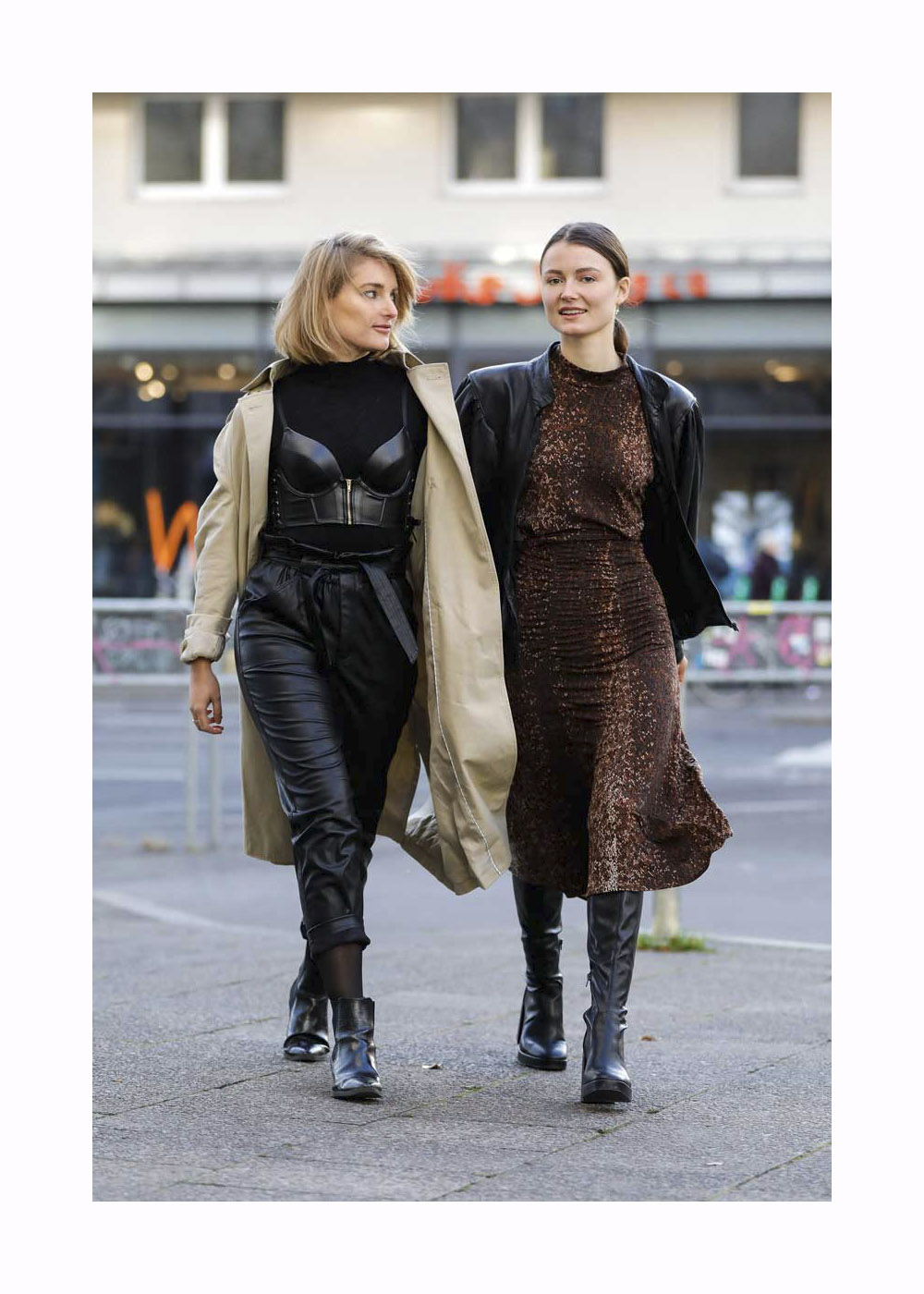 Street Style mit Hannah Müller-Hillebrand in Berlin