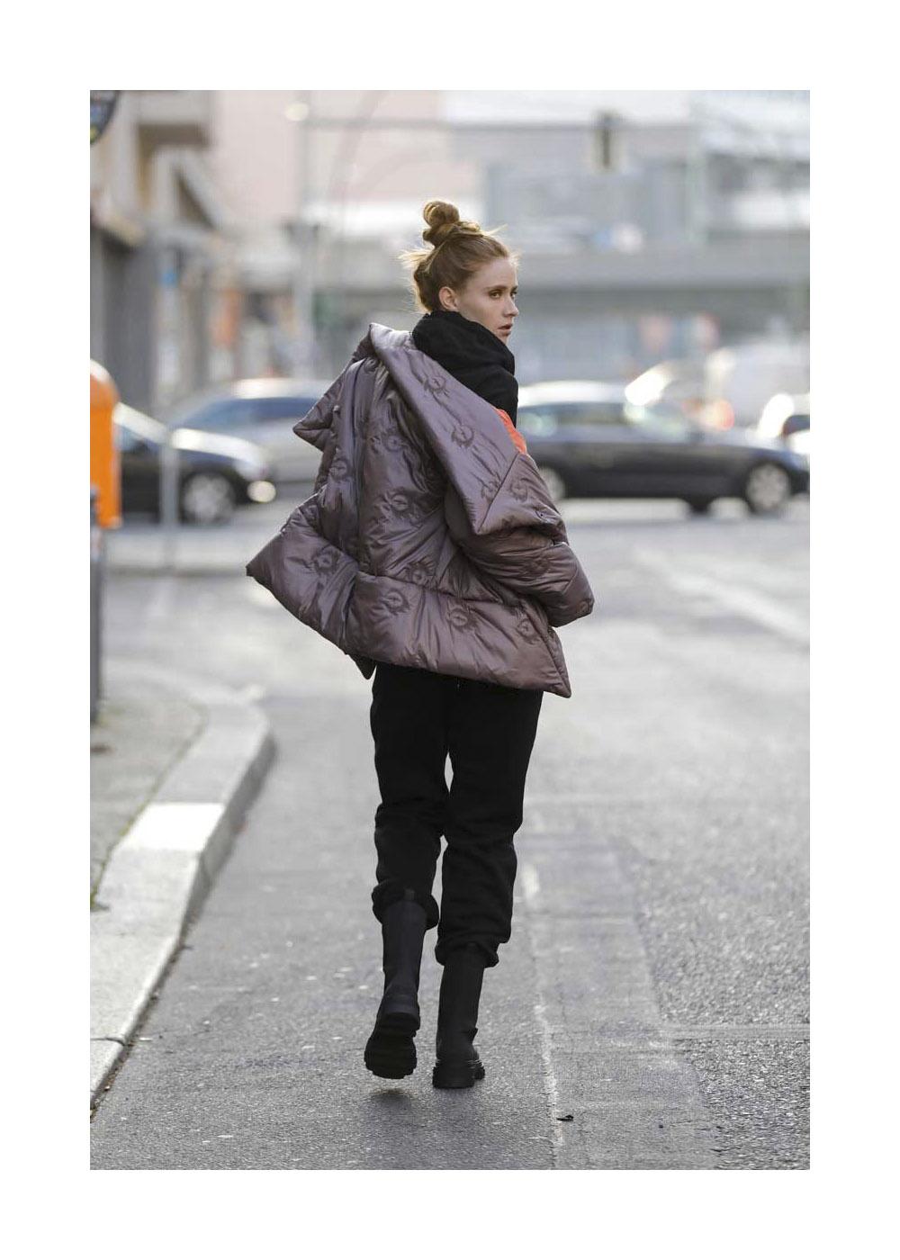 Street Style mit Model Sandra Hunke in Berlin