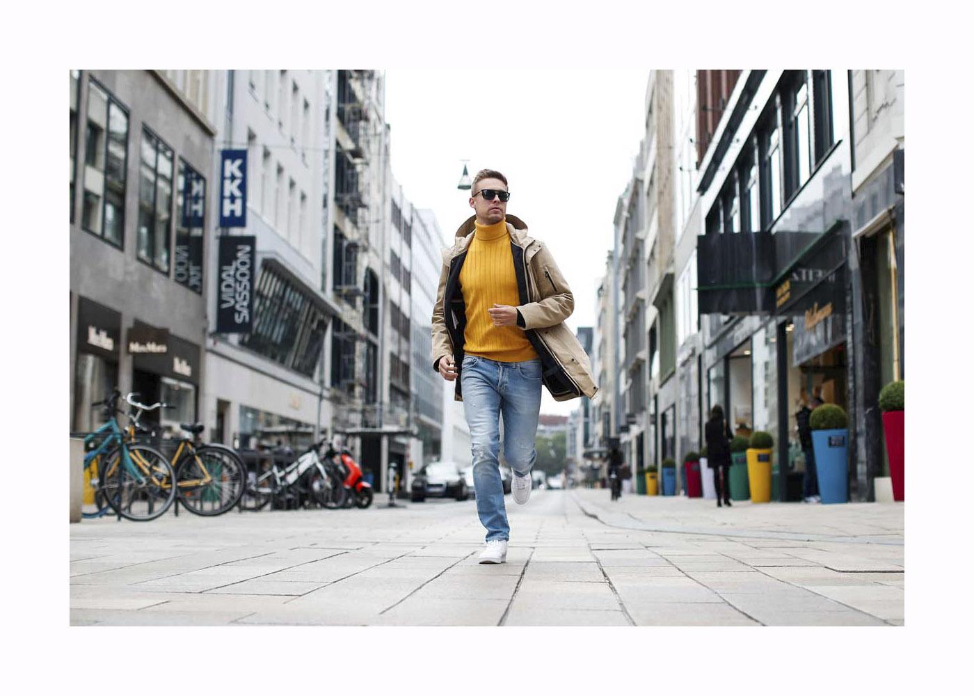 Streetstyle mit Chris Wascheck in Hamburg
