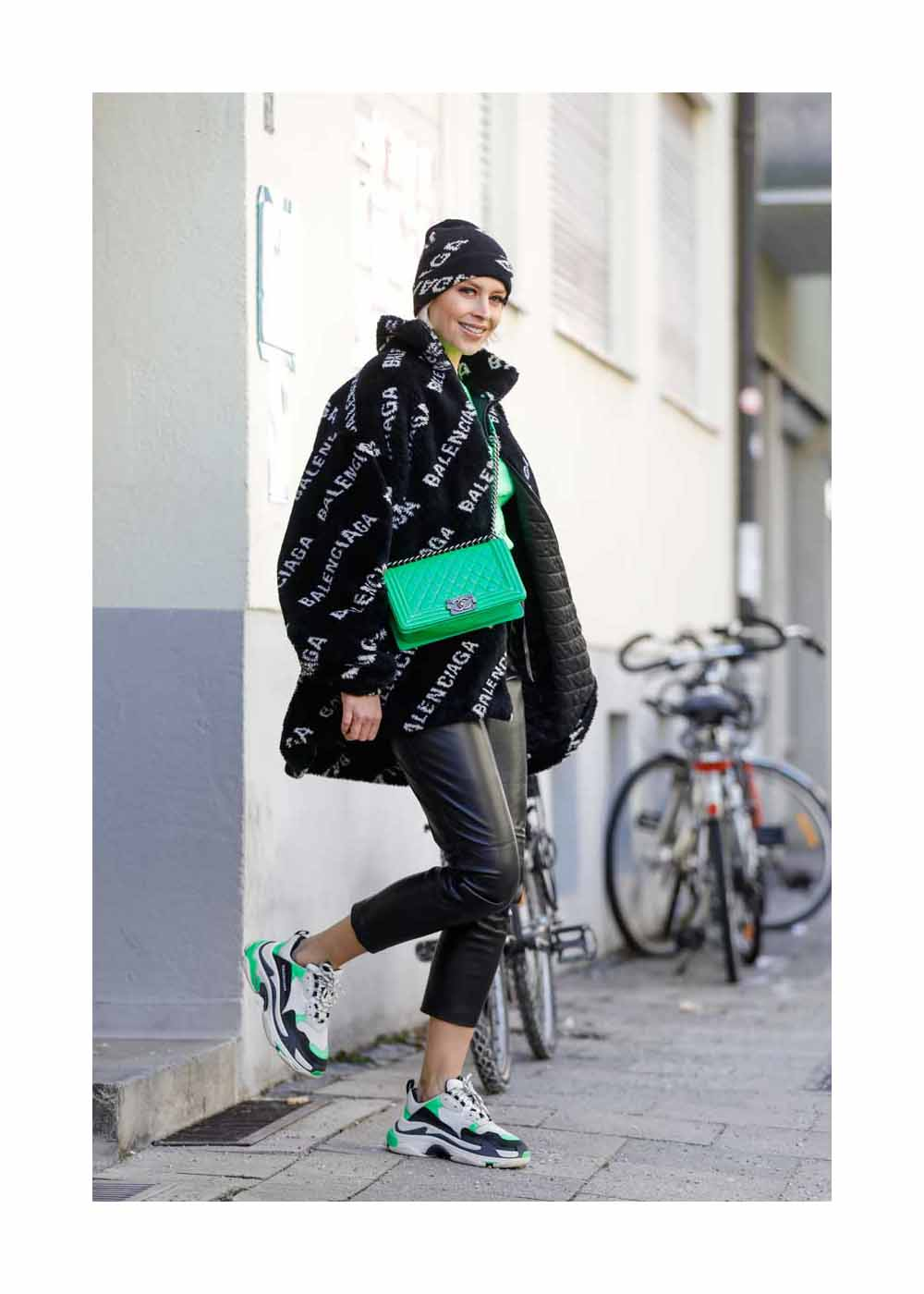 Verena Kerth Street Style Shooting In Munich