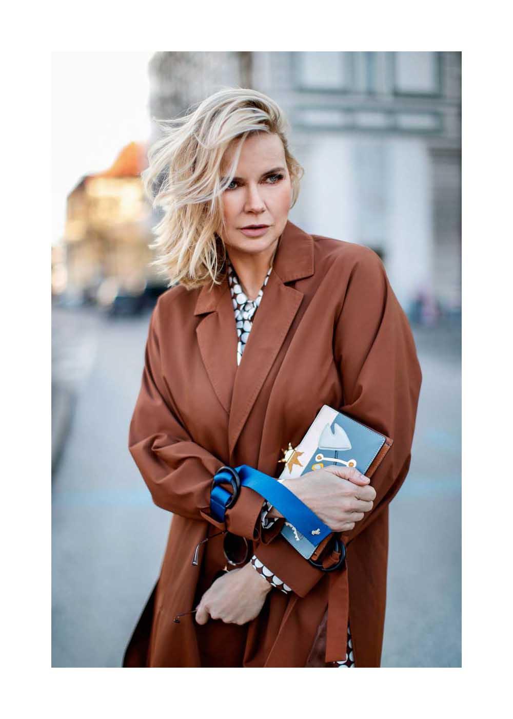 Streetstyle mit Veronica Ferres in München