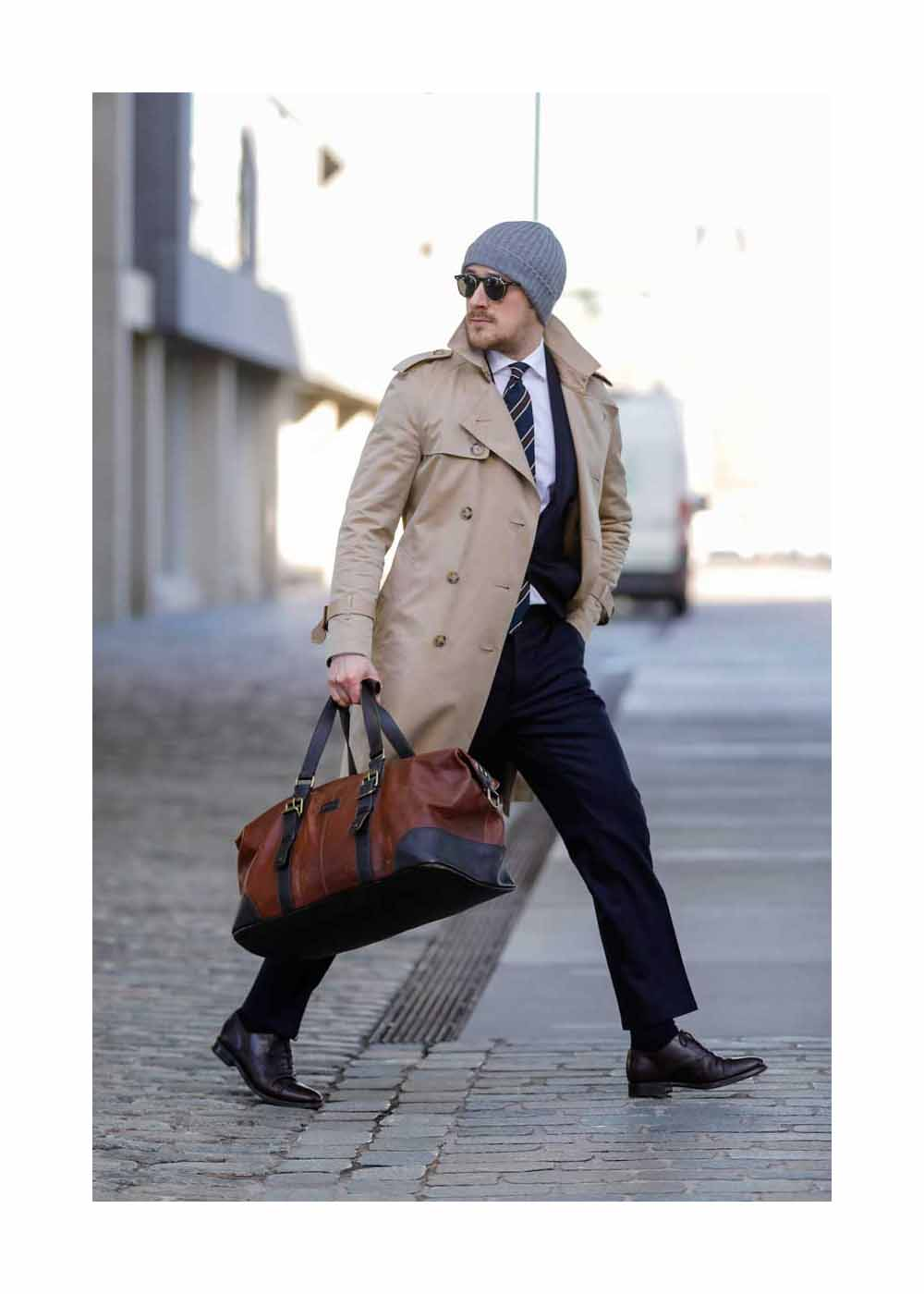 Johannes Laschet Streetstyle Shooting In Cologne