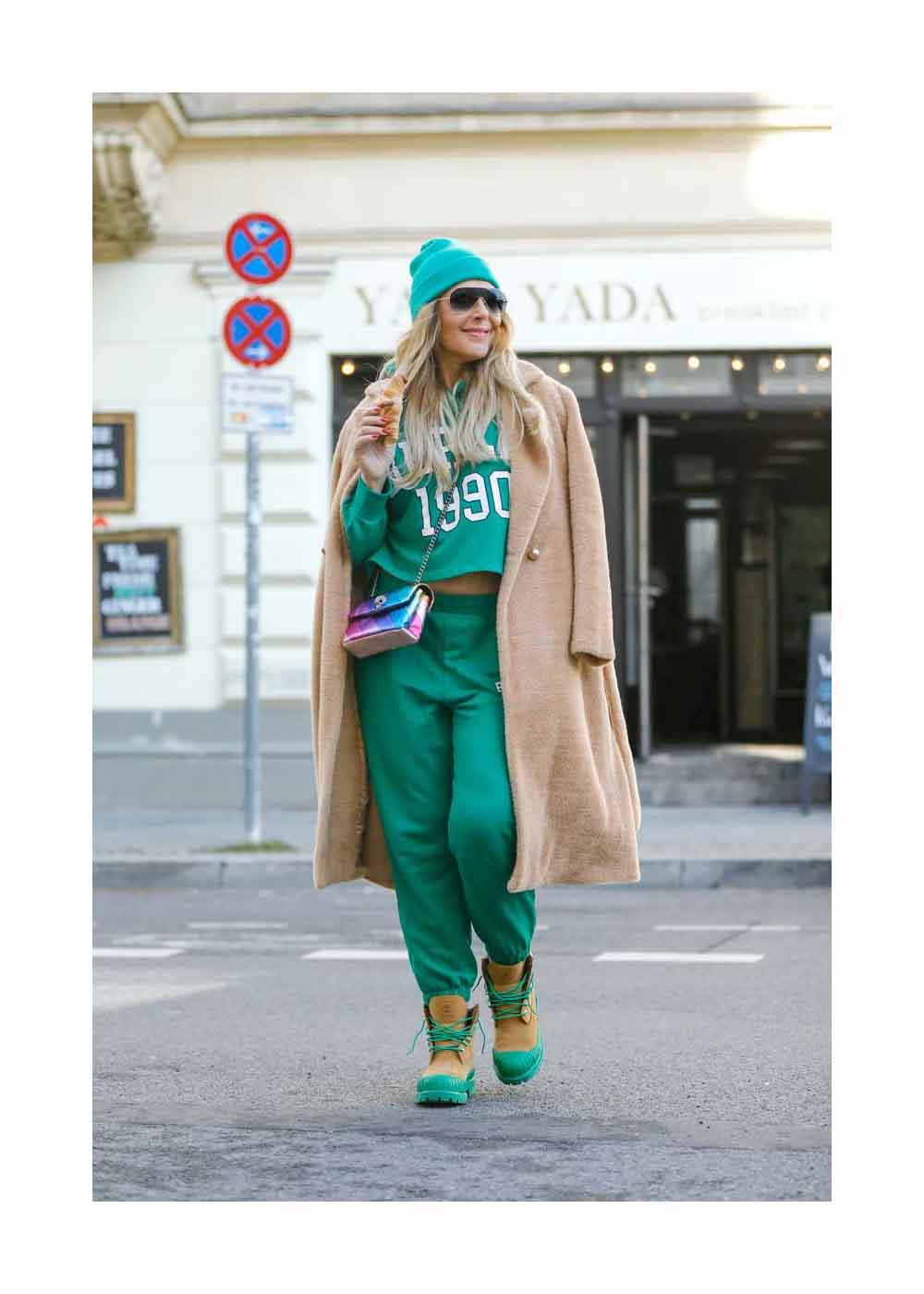 Natascha Ochsenknecht Street Style Shooting In Berlin