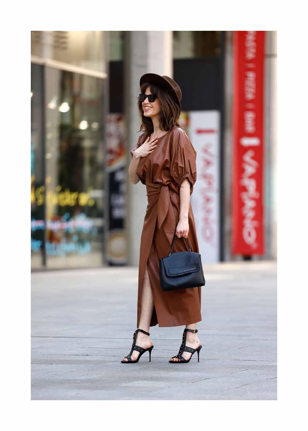 Street Style Shooting mit Schauspielerin Natalia Avelon