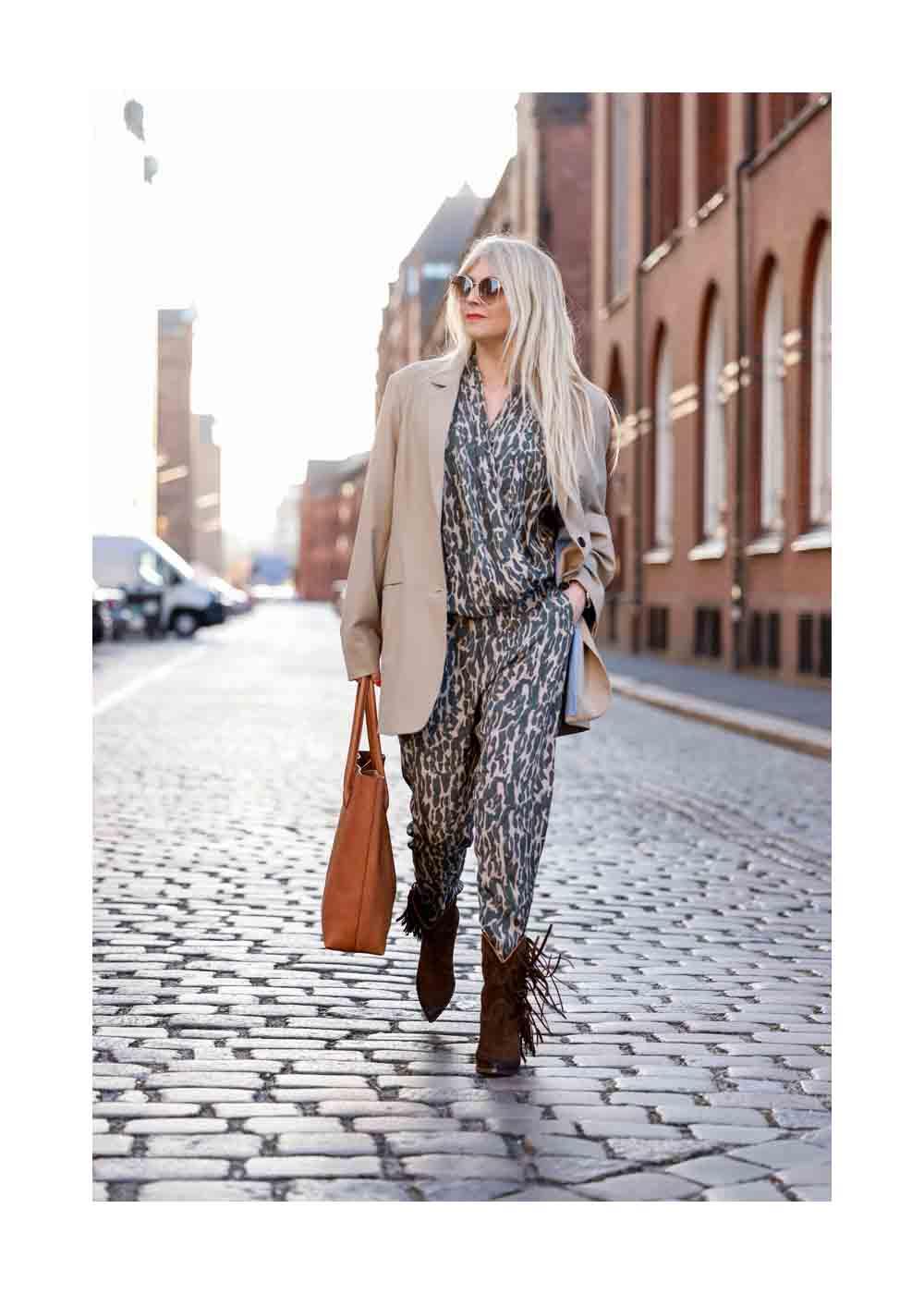 Streetstyle Shooting mit Influencer Sue Blond