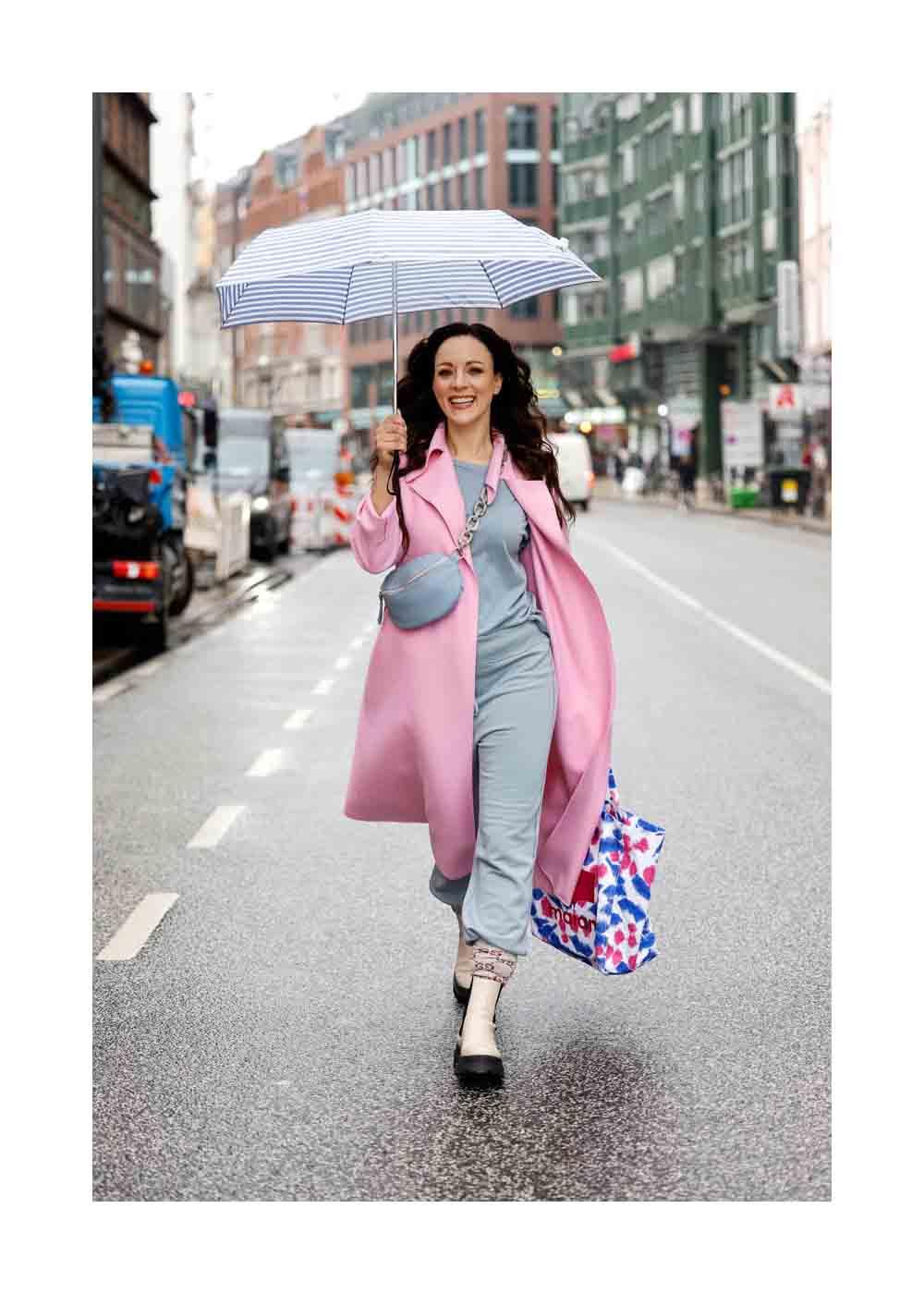 Street Style Shooting mit Sängerin Jasmin Wagner