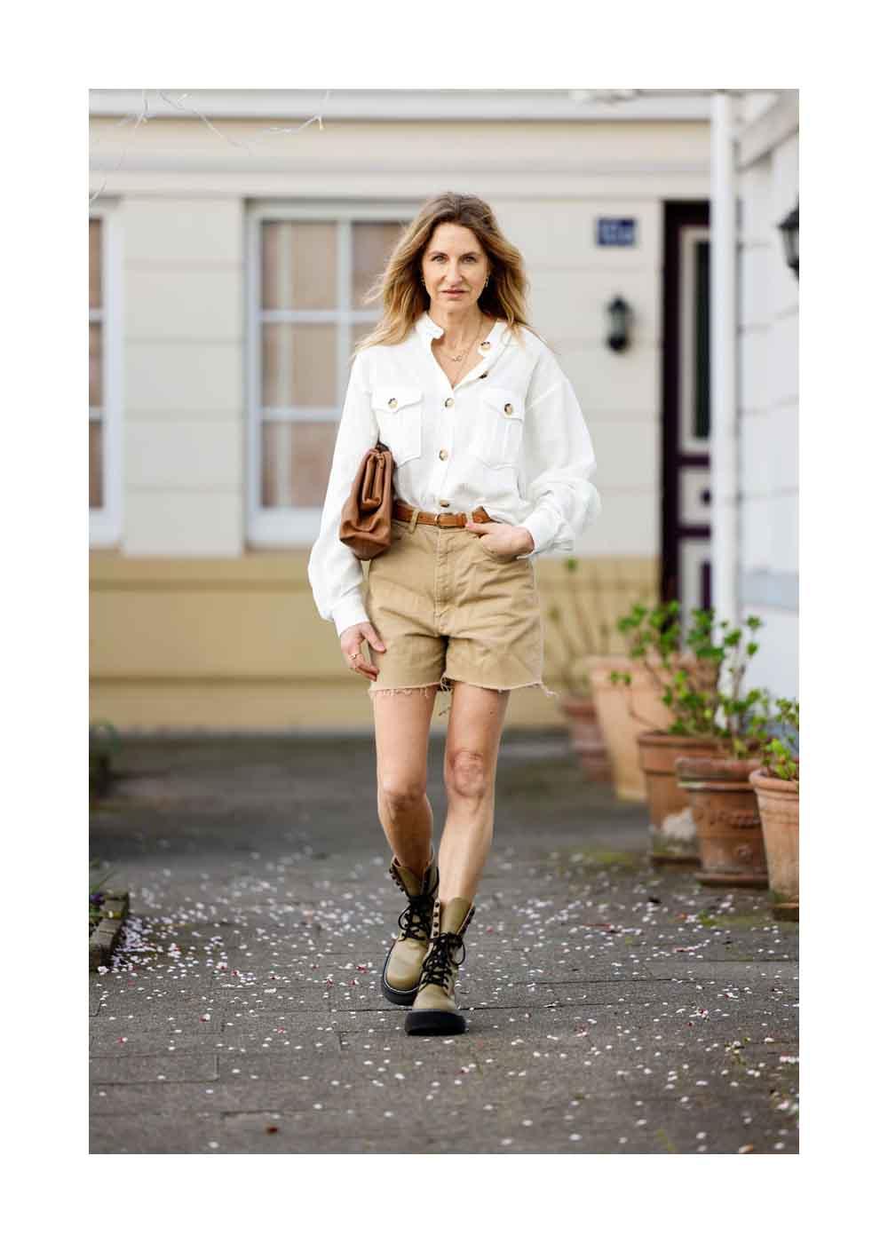 Streetstyle Shooting mit Influencer und Fashion Designer Sue Giers