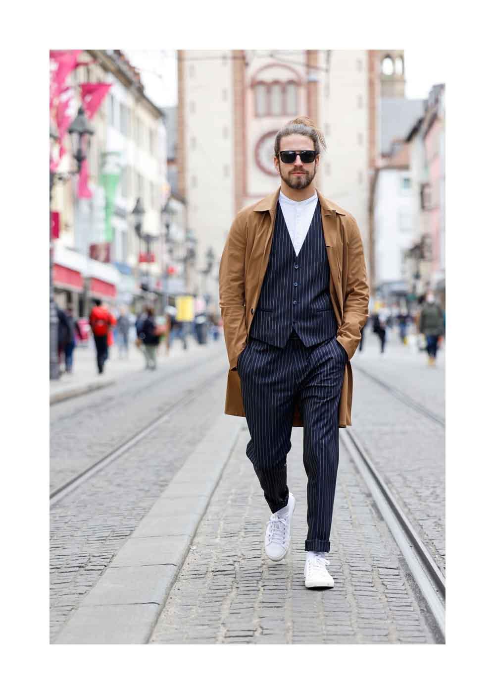 Street Style Shooting mit Influencer Joel Magnus
