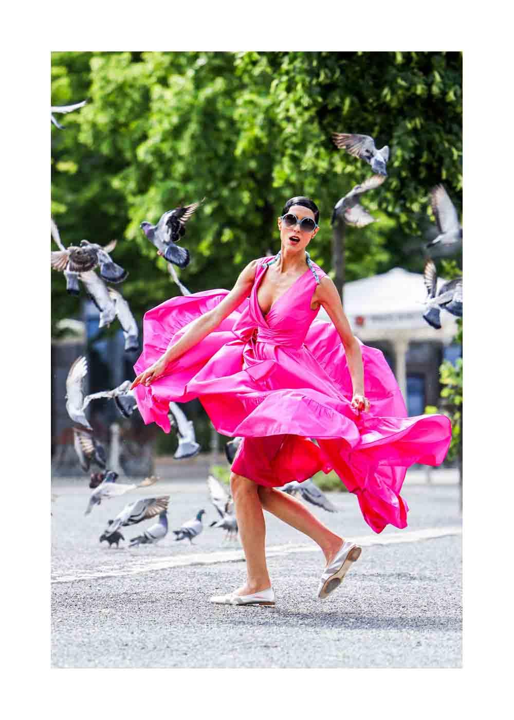 Zoe Helali Street Style Shooting In Berlin