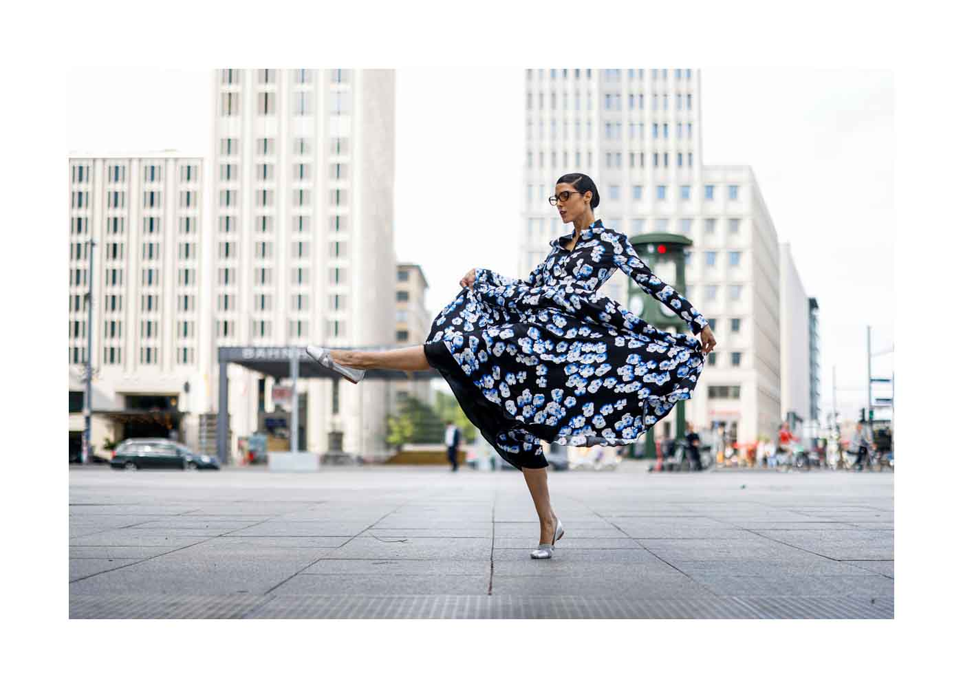 Streetstyle Shooting mit Model Zoe Helali